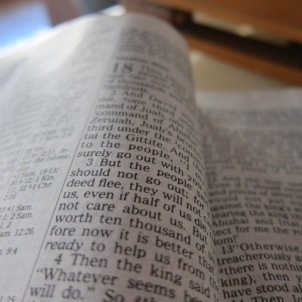 immersing in the word