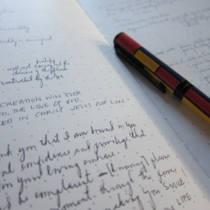 journaling thought snippets